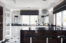 create a stylish art deco kitchen