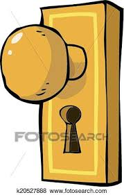 clip art door handle fotosearch search clipart ilration posters drawings