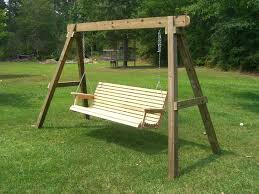 wooden swing set frame patio swing set how to build a wood swing set frame