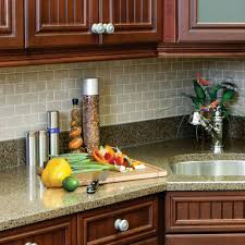 Smart Tiles Kitchen Backsplash Smart Tiles 970 In X 1095 In Peel And Stick Sand Mosaic