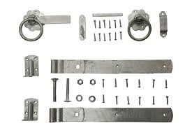 ring gate latch set galvanised