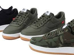 nike shoes air force 1 supreme. the wait for supreme x nike air force 1 shoes l
