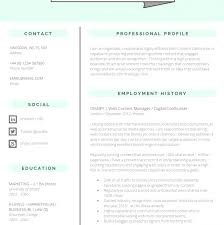 Updated Resume Template 2015 Docs Template