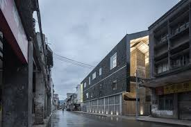urban office architecture. Lianzhou Museum Of Photography / O-office Architects, © Chaos Z Urban Office Architecture