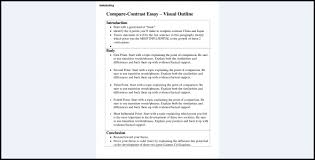 compare and contrast say format