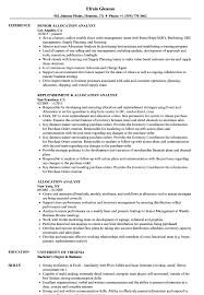 Cdo Analyst Sample Resume Allocation Analyst Sample Resume shalomhouseus 1