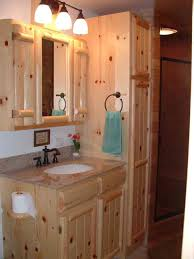 Bathroom Pantry Cabinet Cabinetry Kitchens Baths