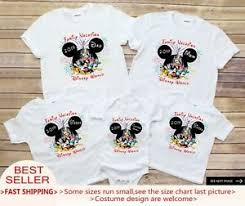 Disney World Size Chart Details About Family Vacation Disney World 2019 Matching Family Disney Shirts Personalized Shi
