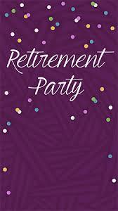 Retirement Invitations Free Free Retirement And Farewell Party Invitations Evite