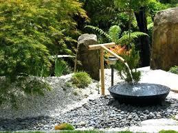 japanese water fountain in a contemporary garden design home designing inspiration kill bill