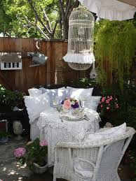 shabby chic patio furniture. inspiration for a shabbychic style patio remodel in san francisco shabby chic furniture e