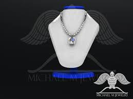saint st michael archangel pendant