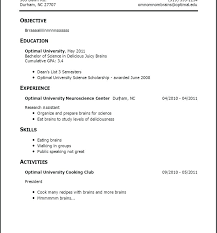 How To Write A Resume With No Job Experience Resume For High School ...