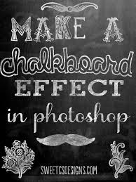 free chalkboard background make a chalkboard printable in photoshop