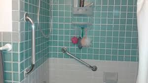 grab bars for the shower