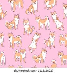 <b>Shiba Inu Pattern</b> High Res Stock Images | Shutterstock