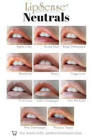 Lipsense Color And Gloss Chart Amber Simmons