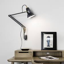 Anglepoise Original 1227 Brass Wall Light Anglepoise Original 1227 Wall Mounted Lamp Brass In 2019
