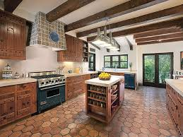 image result for spanish hacienda kitchen california spanish