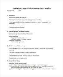 Chart Documentation Method Project Documentation Templates 6 Free Word Pdf Documents