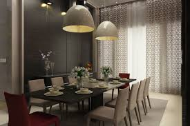 Hanging Lamp Over Dining Table Apartments Dazzling Single Bedroom - Pendant lighting fixtures for dining room