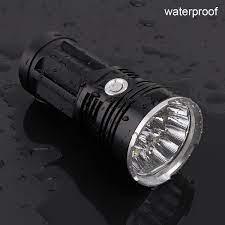 Satılık! Süper parlak su geçirmez el feneri meşale bluray xml t6 kamp /  balıkçılık için 5400lumens alüminyum flaş lambası < Led aydınlatma ~  Gowebstore.news