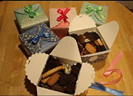 Decorative Boxes For Baked Goods Amazon Chilly Gift Boxes Set of 60 Decorative Treats Boxes 55