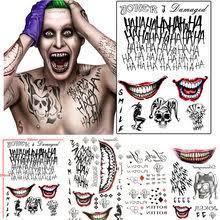 Popular Joker Tattoo Buy Cheap Joker Tattoo Lots From China Joker