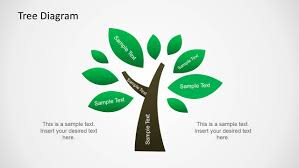 Template Tree Tree Diagram Illustration For Powerpoint
