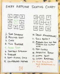 Every Airplane Seating Chart 1 12 13 13 7 14 15 1tuna