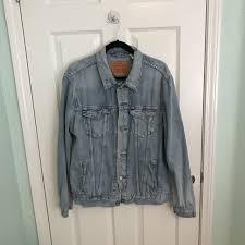 Levis Light Stonewash Jacket A Classic Light Stonewash Levis Jean Jacket No Depop