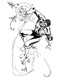 Small Picture Classic Green Lantern Comic Book Coloring Page H M Coloring Pages