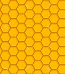 Beehive Pattern Stunning Illustration Of Colorful Beehive Seamless Pattern Royalty Free