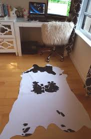 fake cowhide rug nz