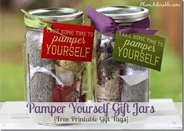 per yourself gifts in a jar ideas