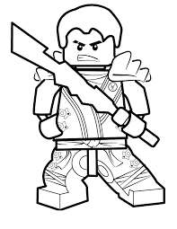 Small Picture Lego Coloring Pages With Characters Chima Ninjago City Star