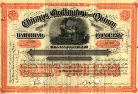Stock Certificats The Rail Philatelist Railroad Stock Certificates