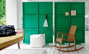 green moveable room dividers diy