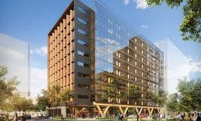 wooden office buildings. In 2018 Brisbane Will Be Home To The World\u0027s Tallest Engineered Timber Office Building. Wooden Buildings R