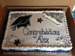 13 College Graduation Cake Sheet Cakes For Boys Photo Graduation