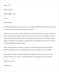 sample letter of complaint examples in word pdf service complaint letter