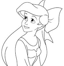 Disegni Da Colorare Delle Principesse Disney Bianco E Nero Disegno