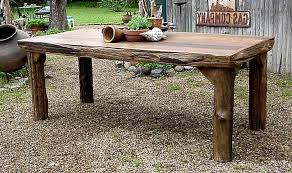 amazing rustic outdoor wood furniture dini on diy rustic wood coffee tabl