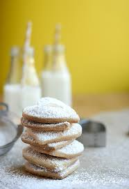 There's nothing like traditional christmas cookies. 3 Ingredient Shortbread Cookies
