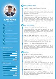 quality cv templates sample customer service resume quality cv templates cv template high quality resume templates slade professional quality cv resume template