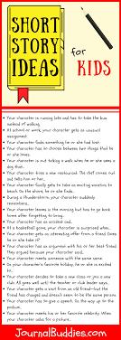 How To Write A Children S Story Template Short Story Ideas For Kids Journalbuddies Com