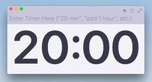 5 Mins Timer Applications Alternative Ways To Set A Timer On Macos Ask Different