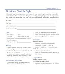 Birth Plan Guidelines Birth Plan Guidelines Under Fontanacountryinn Com
