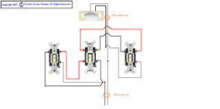 need diagram for way switch feed and switch leg in graphic