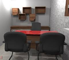 Office design images Interior Grey And Black Coloured Small Office Design Design Milk 15 Latest And Best Ideas For Small Office Designs With Images